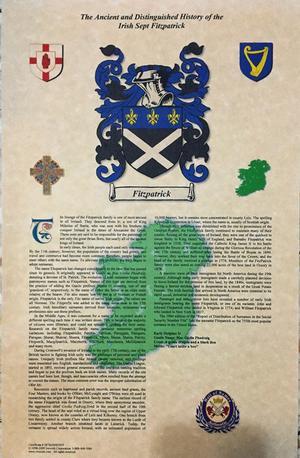Escudo de la familia Fitzpatrick
