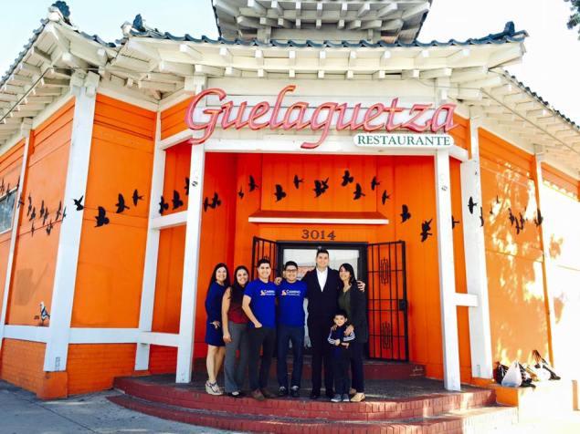Team Photo La Guelaguetza
