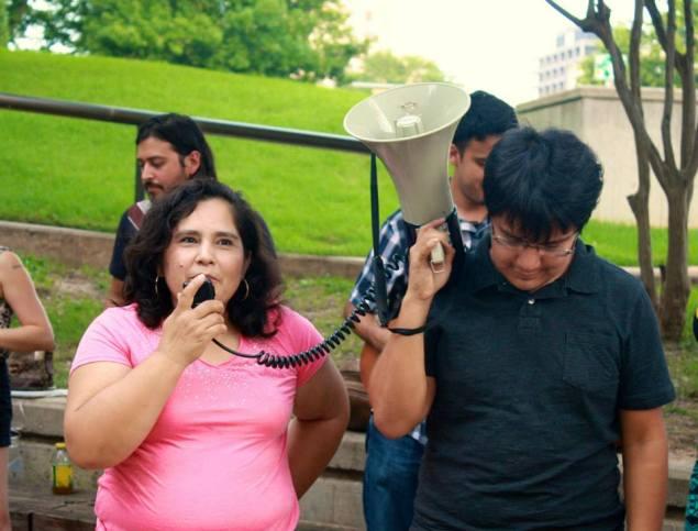 Carmen Zuvieta, community organizer and immigrant rights activist