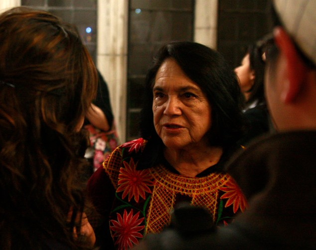 Labor organizer and civil rights activist Dolores Huerta (Eric Guo/Flickr)