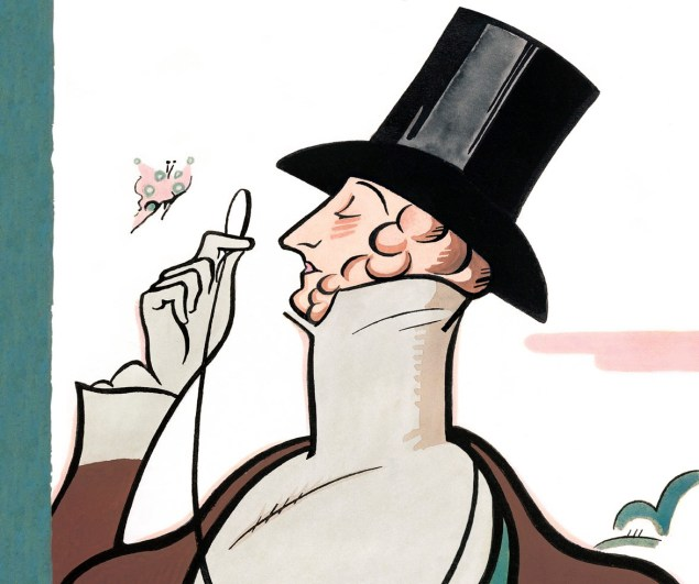 """""""Eustace Tilley,"""" by Rea Irvin (New Yorker)"""
