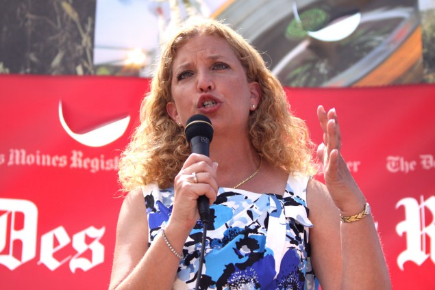 Debbie Wasserman Schultz, chair of the Democratic National Committee and representative from Florida (Gage Skidmore/Flickr)