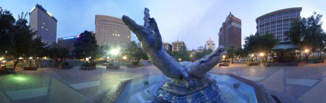 Los Lagartos in San Jacinto Plaza- Chuy Benitez