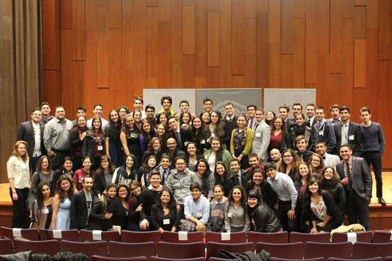 2015 Latinx Conference Participants at Brown. Photo by Taylor Michael.