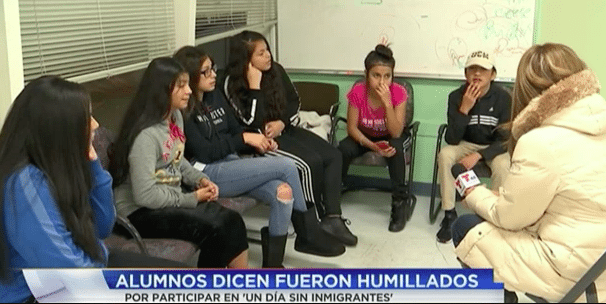 Latino Students Say Teacher Kicked Them Out of Class for Attending 'Day Without Immigrants'