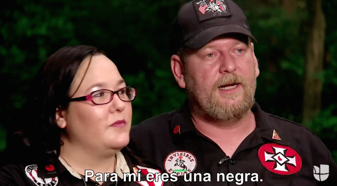 KKK Member to Univision Anchor Ilia Calderón: 'To Me, You're a N**ger'