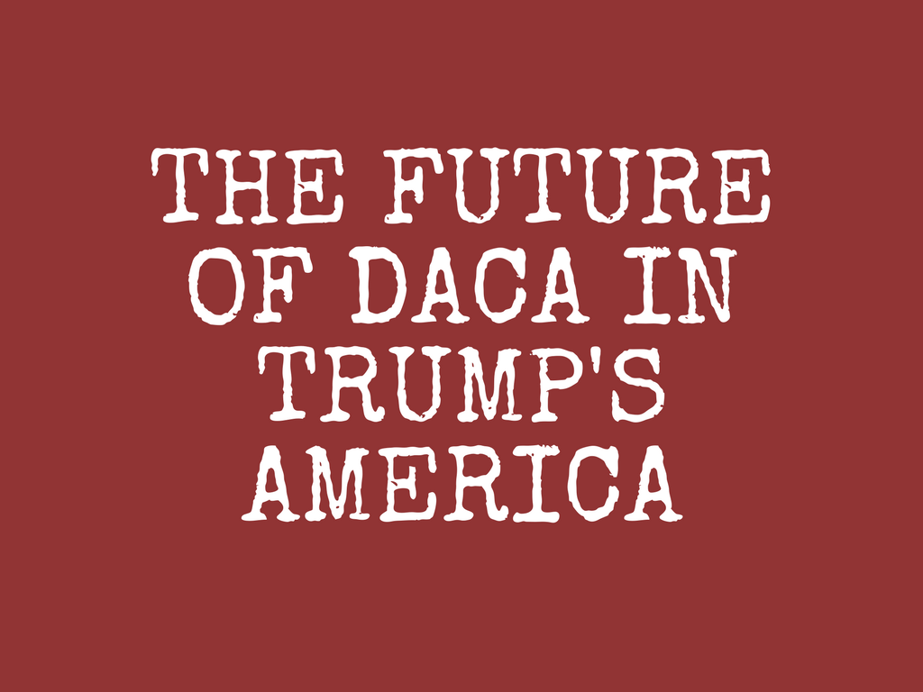 A DACA Update and the Whitewashing of Evita (PODCAST)