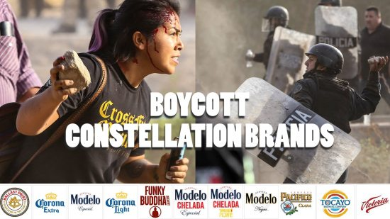 BOYCOTT MODELO: Water Privatization and Solidarity With Baja California