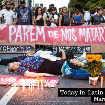 Thousands of People Marched in Rio de Janeiro to Protest Murder of Marielle Franco
