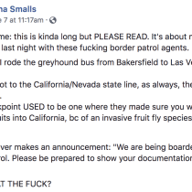 A Must-Read Raw, Honest (and Real) Take on How One Women Dealt With Border Patrol on a Greyhound Bus