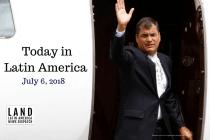 Ecuadorean Judge Issues International Capture Order for Ex-President Correa