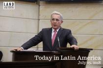 Former Colombian President Álvaro Uribe Quits Senate Amid Criminal Investigation