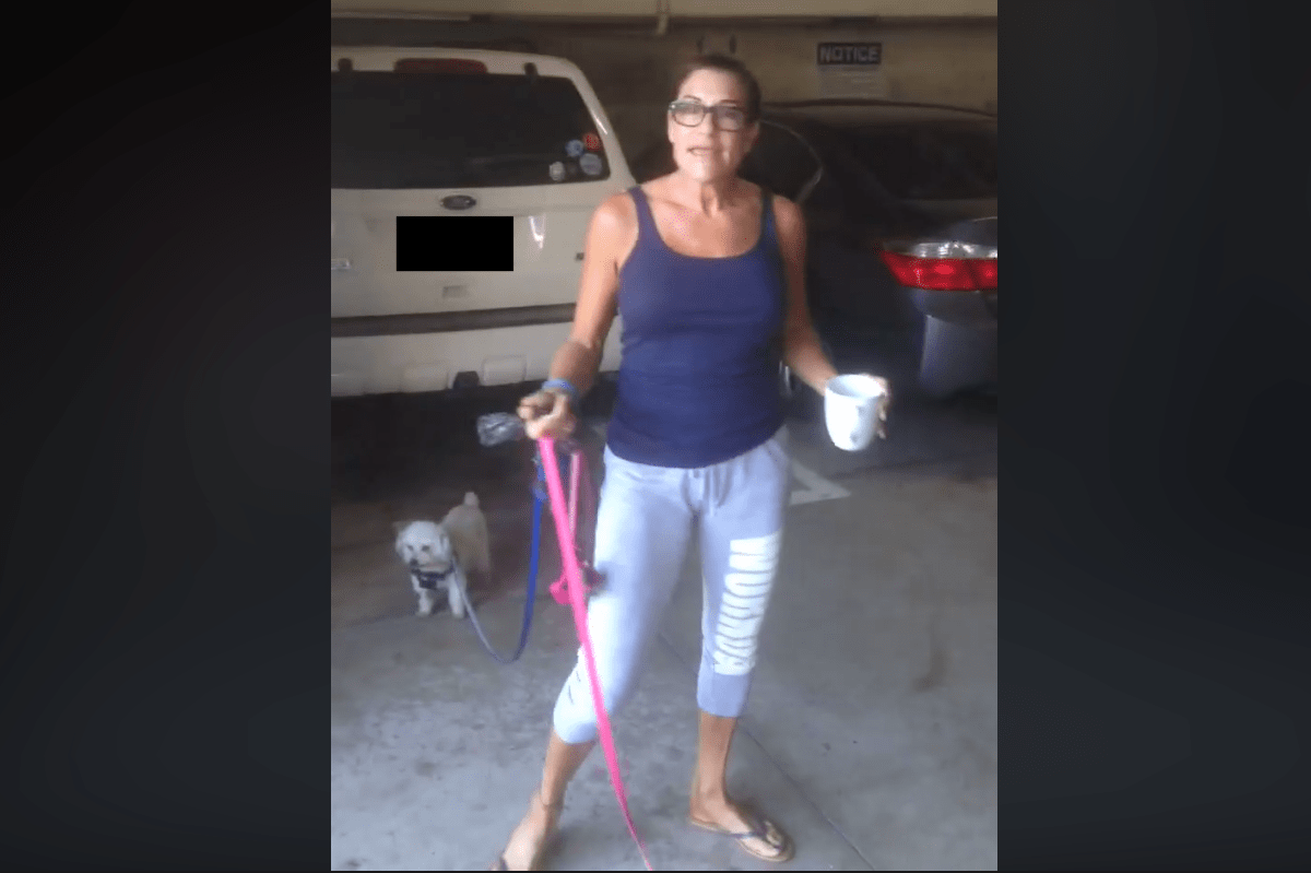 Woman Who Threw Coffee at Latino Worker in Viral Video Has Been Identified
