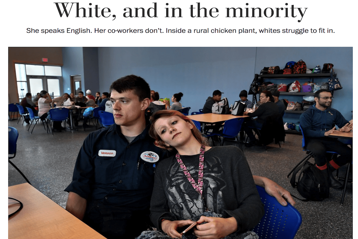 Washington Post Defends 'White, and in the majority' Story, Ignoring Critiques