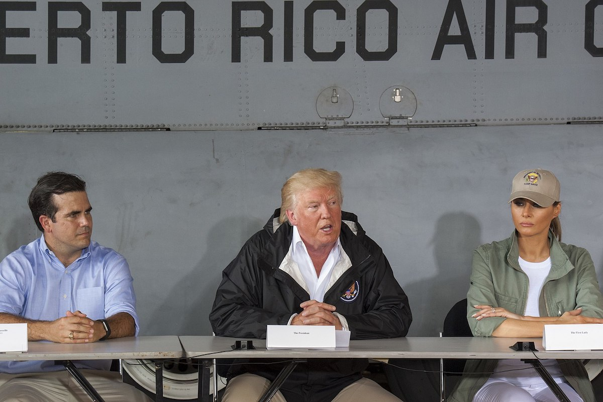 In 'Interview' With Geraldo Rivera, Donald Trump Keeps Disparaging Puerto Rico