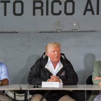 Day Before Trump Tweets About Death Count, Puerto Rican Govt Officials Met With White House to Discuss Hurricane María Messaging