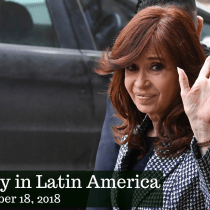 In Argentina, Former President Kirchner Charged in Corruption Scandal