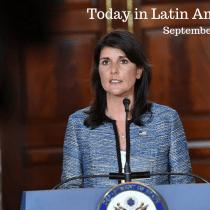 US Pushes UN to Discuss Nicaragua