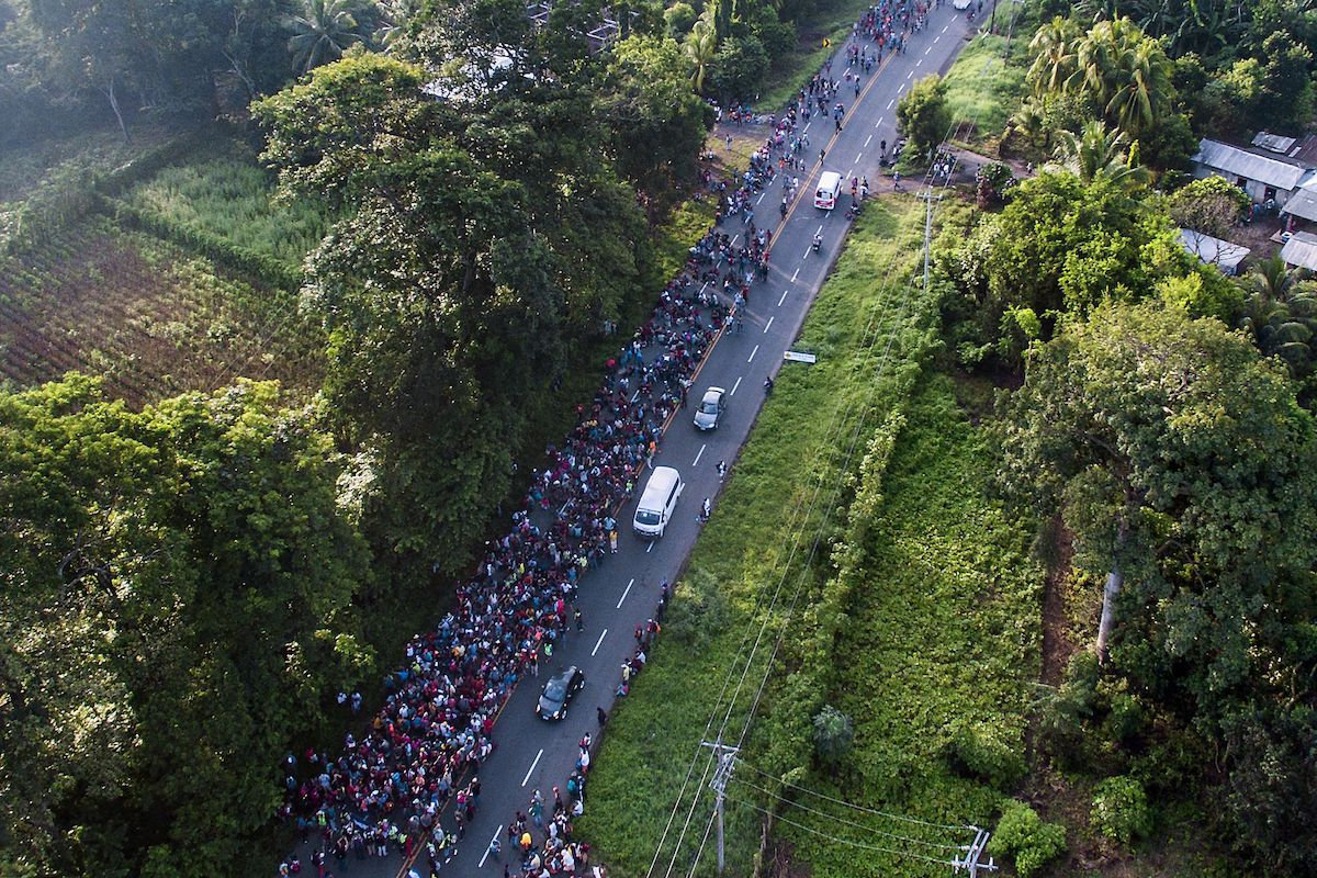 Solidarity With Migrant Caravan (And NO to Repression)