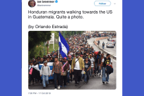 On White Anxiety and the Fear of a 'Migrant Caravan'