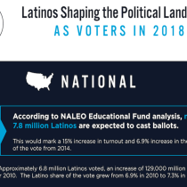 More Than 7.8 Million Latino Voters Expected to Cast Ballots in Election 2018