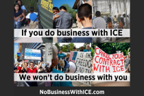 Immigrant Advocates Host 'No Business With ICE' Actions in Boston, New York City and Grand Rapids