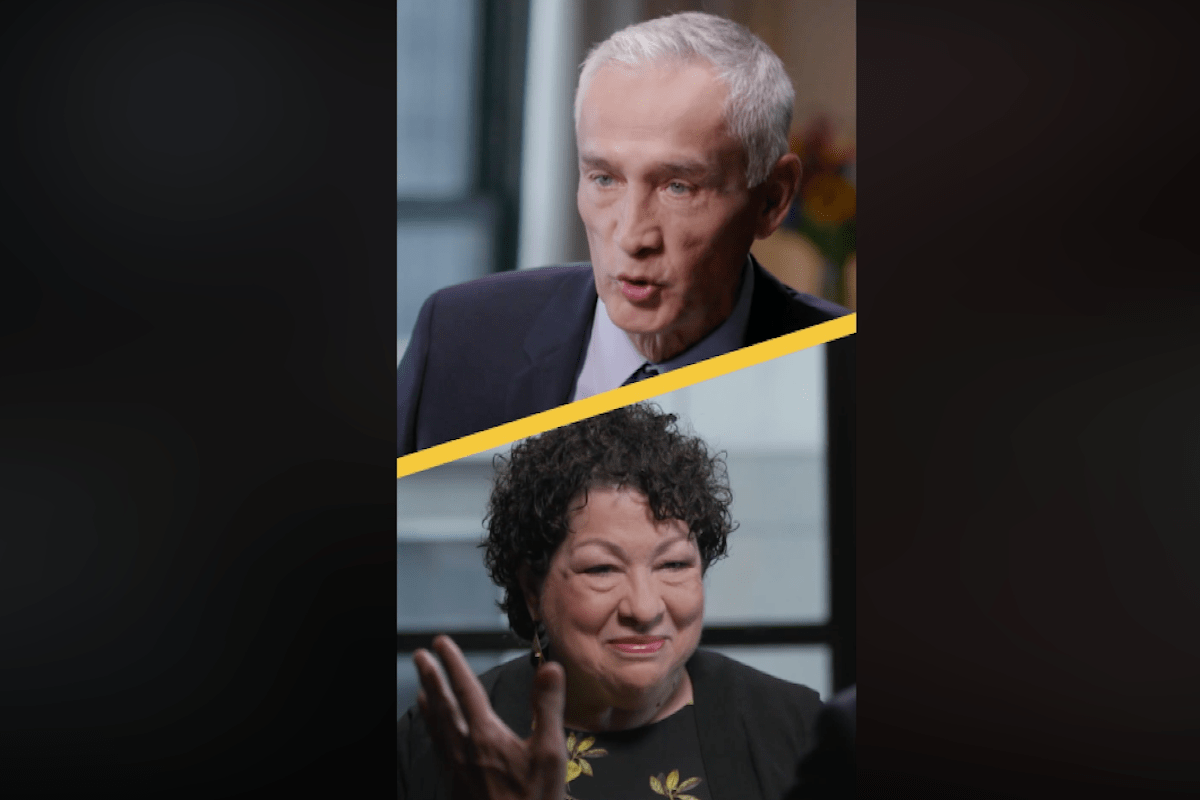 Jorge Ramos Just Interviewed Justice Sonia Sotomayor and It Was Kind of Cool to Watch
