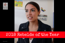 Ocasio-Cortez Wins the 2018 Rebelde of the Year