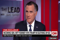 'Mr. Resistance' Mitt Romney Tells CNN, 'I Would Vote for the Border Wall'