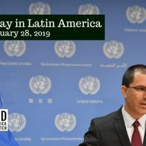 Diplomats Walk Out During Venezuelan Foreign Minister's UN Speech