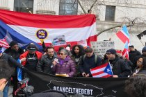 Puerto Rican Diaspora Activists Demand Federal Judge #CancelTheDebt