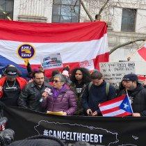 Puerto Rican Diaspora Activists Demand Federal Judge #CancelTheDebt