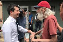 Meeting Mayor Pete in Nevada