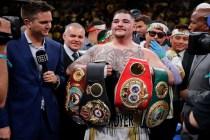 Historic Andy Ruiz Win Jolts Elation Among Mexican Americans