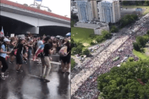 From Street Dancing to Aerial Shots: Some Incredible Images and Videos From Today's San Juan Protests So Far