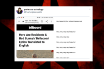 Twitter Users Find Glaring Error on Billboard's Translation of Residente and Bad Bunny's 'Bellacoso' (Hint: It Doesn't Mean 'Beautiful')
