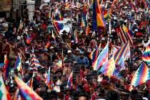 Bolivian Interim Leader Says Morales Can't Run in New Vote