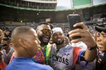 Baseball Star Ortiz Makes First Appearance Since Being Shot