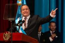 Guatemala Swears in Conservative Giammattei as President