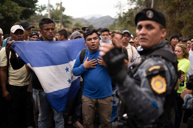 Guatemala Officials Disperse Migrants, But Some Keep Trying
