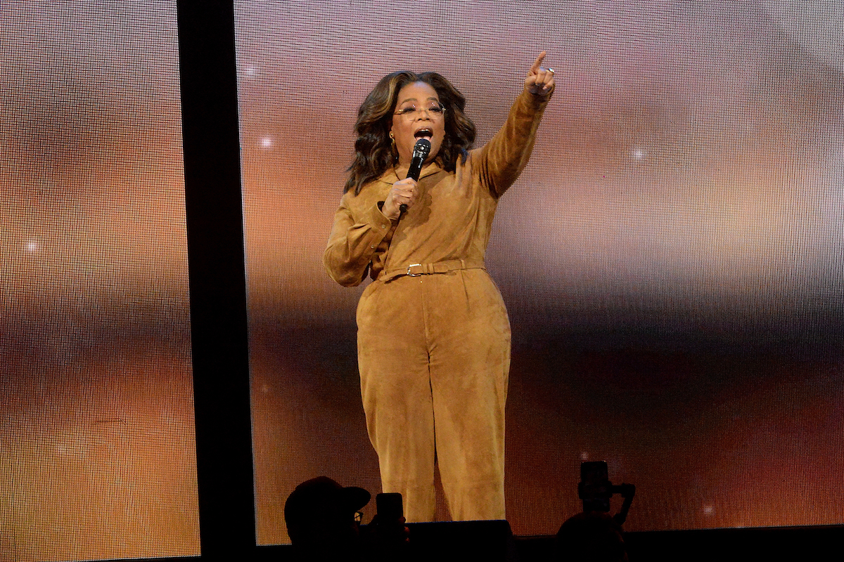 Winfrey Holds TV Discussion on AMERICAN DIRT in Arizona