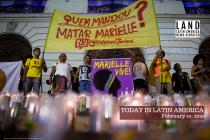 Police Kill Suspect in Marielle Franco's Murder