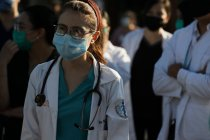 Mexico Hospital Staff Protest Lack of Protective Equipment