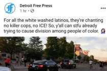 Dear Detroit Free Press: Did You Add Racist Language to Your Facebook Live Stream?