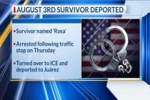 A Survivor of El Paso Massacre Is Deported, Local Media Reports