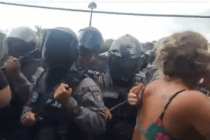 Tension Rises in Rincón Due to Police Force and Construction on Beach