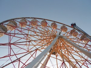 Ferris wheel at the Pleasure Pier.