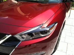 2016 Maxima headlamp detail