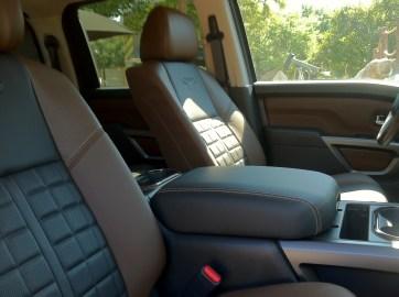 2016 Titan XD interior