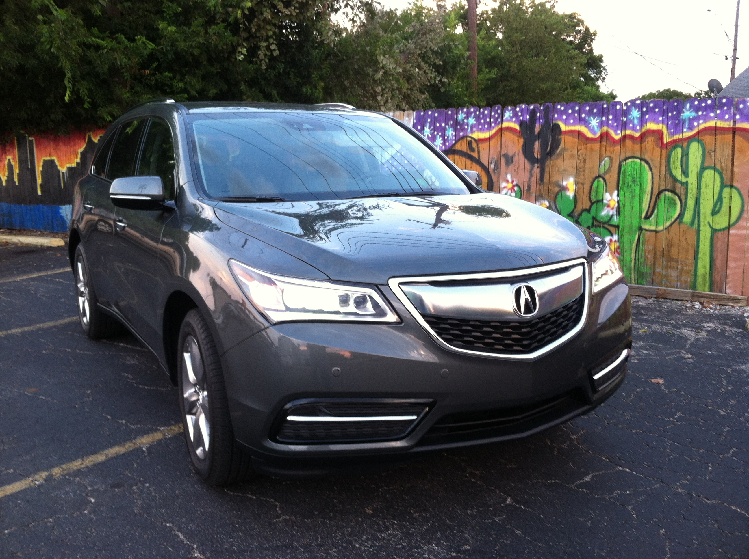 post acura review suv mdx